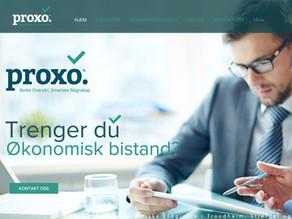Proxo Regnskap lanserer ny webside!