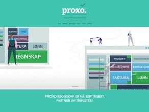 Proxo Regnskap er ikke bare sertifisert for Visma Business og Global – men er nå sertifisert partner