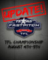 Date Change for TFL Championship