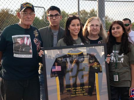 4TH Honors U.S Marine Corps Sgt