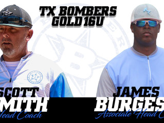 Head Coach Scott Smith Now To Head Up Both 16u & 18u Gold Teams.