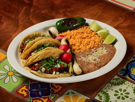 Tacos Mexicanos Dinner