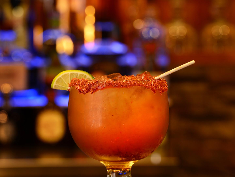 Margarita de Tamarindo con Chile