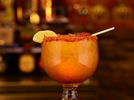 Margarita de Mango con Chile
