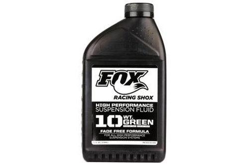 Fox Suspension Oil - 10wt Green