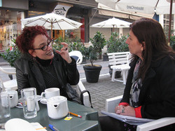 Mariana Percovich et Julie Vincent