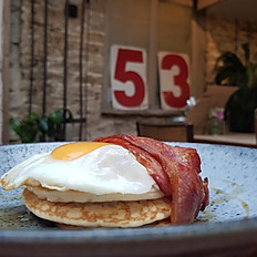 Stacked Pancakes - Americano