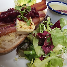 Open Sandwich of the day