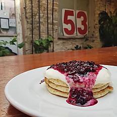 Stacked Pancakes  - Berrylicious