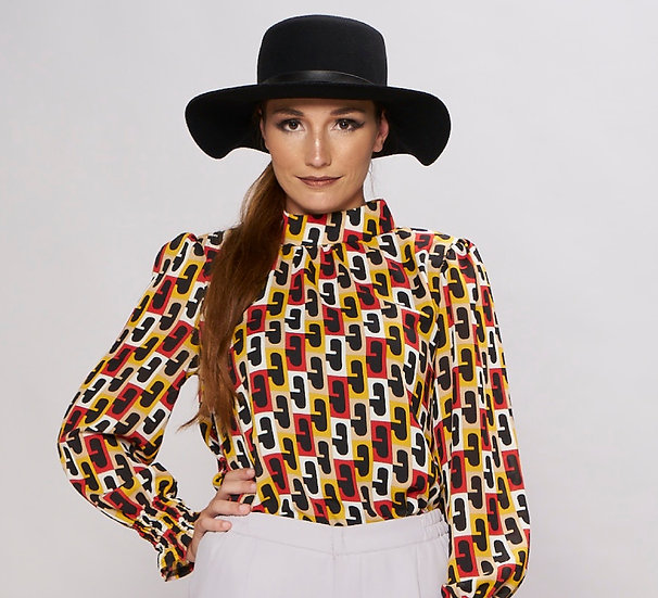 long sleeve muslimah blouses online
