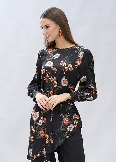 muslim floral blouse