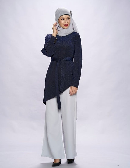blouse muslimah trendy