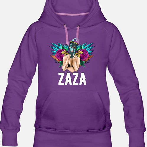 ZAZA-(WL)SLIM-FIT HOODIE
