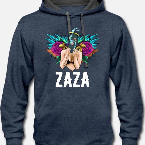 ZAZA-(WL)-UNISEX HOODIE