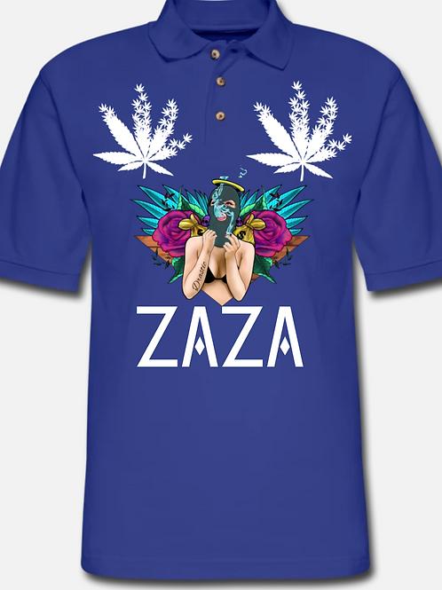 ZAZA-(WL)-MEN PIQUE POLO