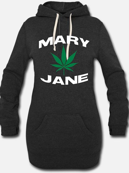 LOVE MARY JANE-Hoodie Dress