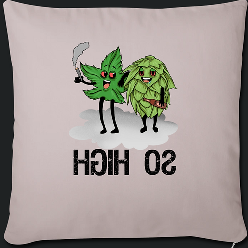 Throw Pillow Cover(So High.H.A.F)