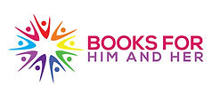 Logo of Books for Him & Her.