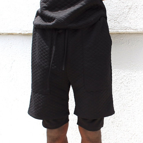 EPTM Quilted Double Layered Shorts