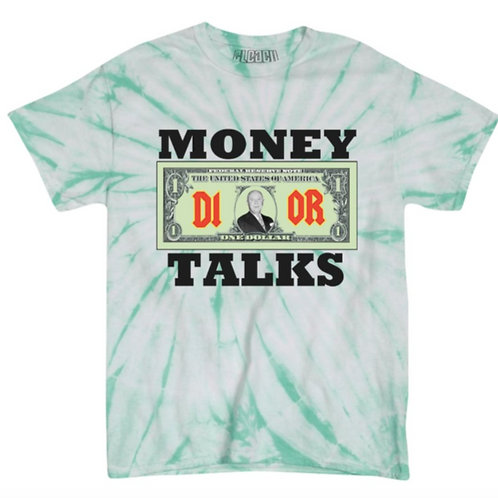Bleached Dior Money Talks Tee