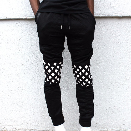 H&W Quilted Joggers