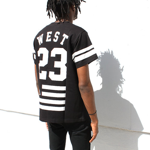 West Kvsh Printed Baseball Jersey