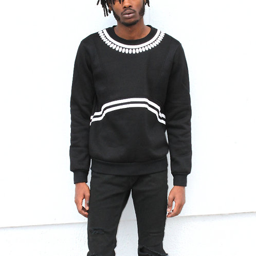 West Kvsh Printed Pullover Sweatshirt