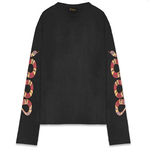 Official Fake Longsleeve Snake Tee