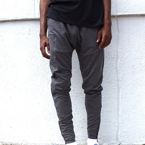 RB Biker Ribbed Panel Jogger