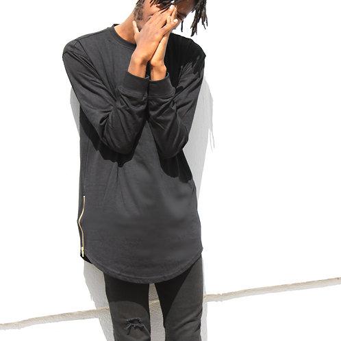BM Longsleeve T-shirt W/ Side Zipper