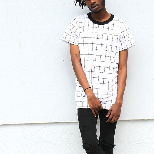 EPTM Grid Lock Long Tee