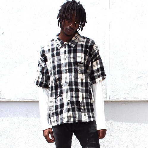 EPTM  Ivory/Black Flannel Thermal Sleeve
