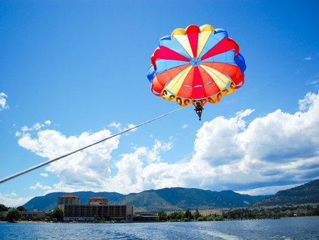 Come Fly With Us – Parasailing For The Disabled
