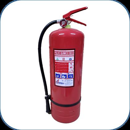 Extintor PQS 10 Kg al 40% F.M.