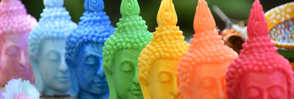 BUDDHA HEAD CHAKRA SOAPS