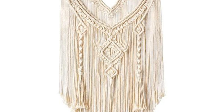 Woven Macrame Hanging Wall Tapestries