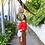 Thumbnail: White Round Rattan Crossbody Bag   Woven Straw Crossbody Wicker Purse for Women