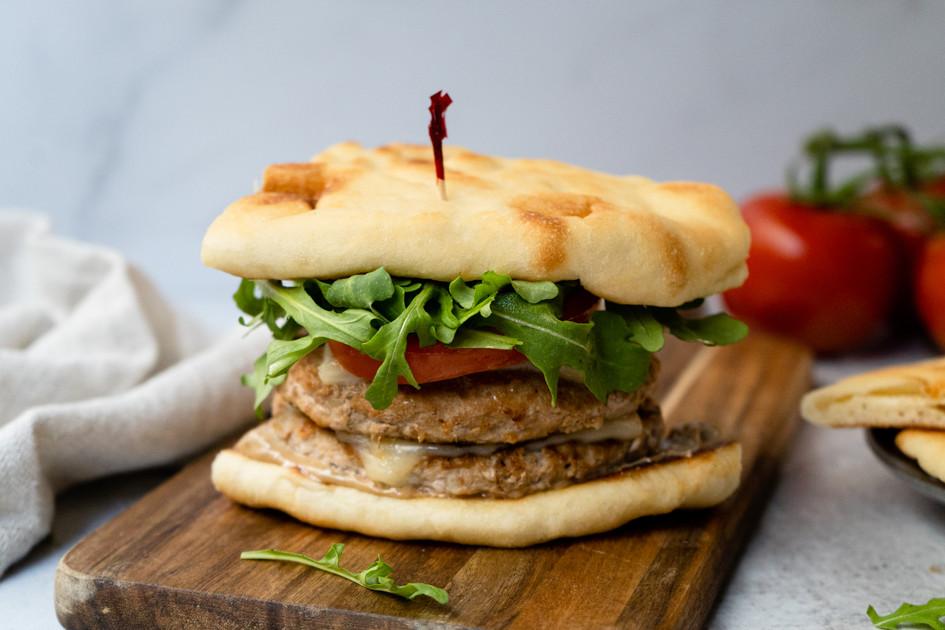 Naan Burger