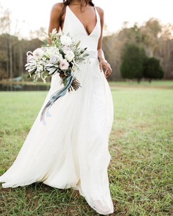 Bride with nature