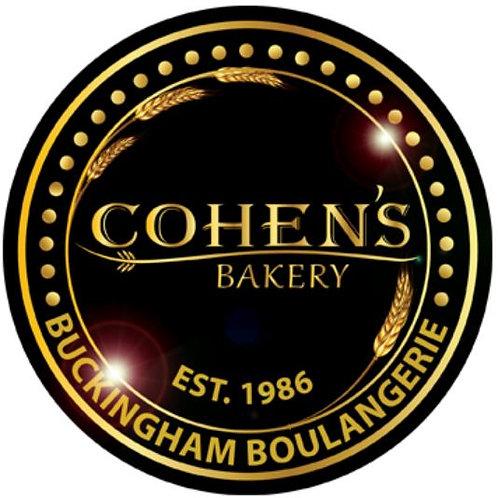 Cohen's Bakery Medium White Spelt Mixed Seed Challah