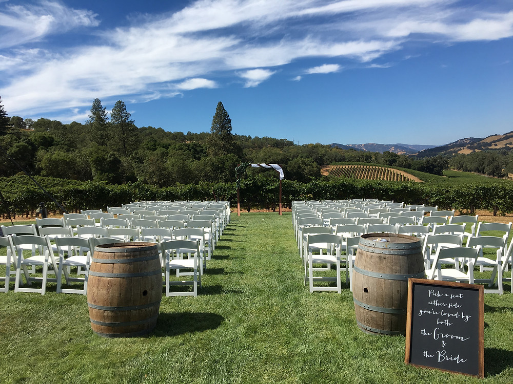 Hopland Wedding DJ - Brutocao Cellars