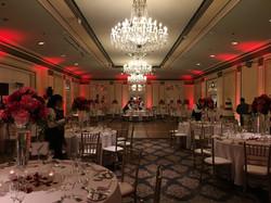 Sir Francis Drake Wedding Lighting