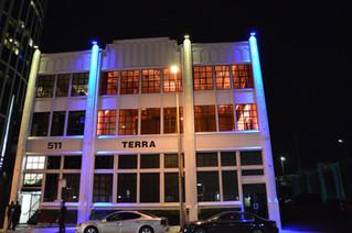 Terra Gallery Wedding Uplighting - March 2015