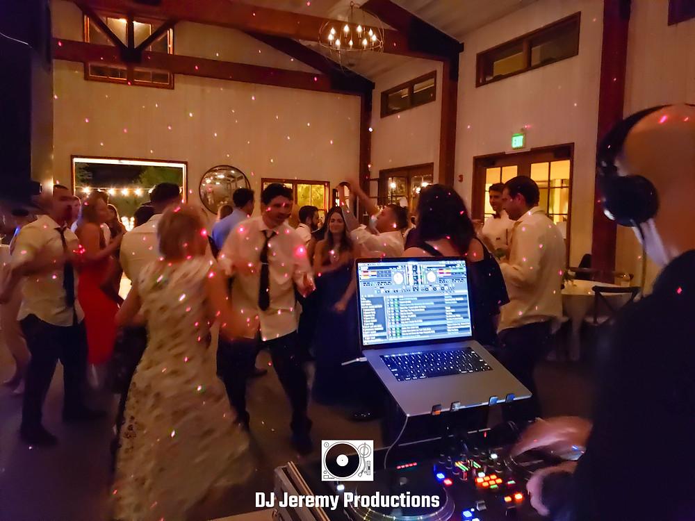 Park Winters wedding dj