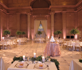 Asian Art Museum Wedding September 2017 - DJ & Lighting Services