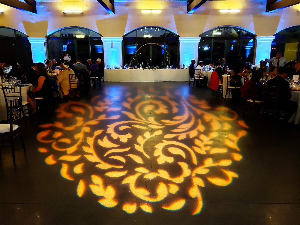 Bridges Golf Club San Ramon Wedding DJ Lighting