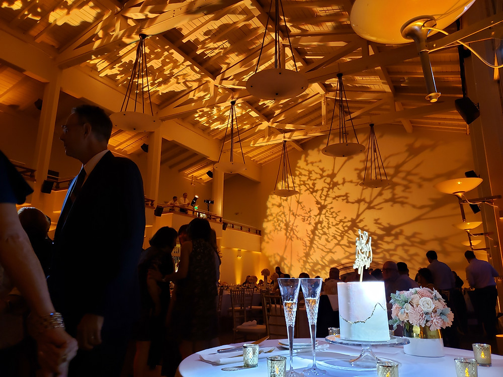 Golden Gate Club Wedding Lighting - San Francisco DJ