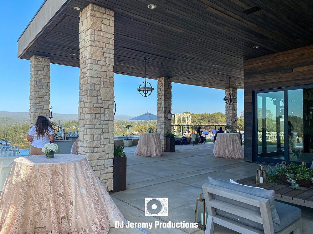 Black Oak Mountain Vineyards wedding cost