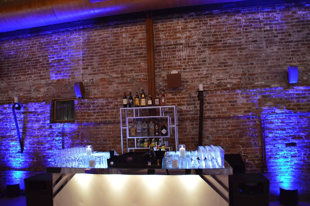 The Estate Yountville wedding lighting