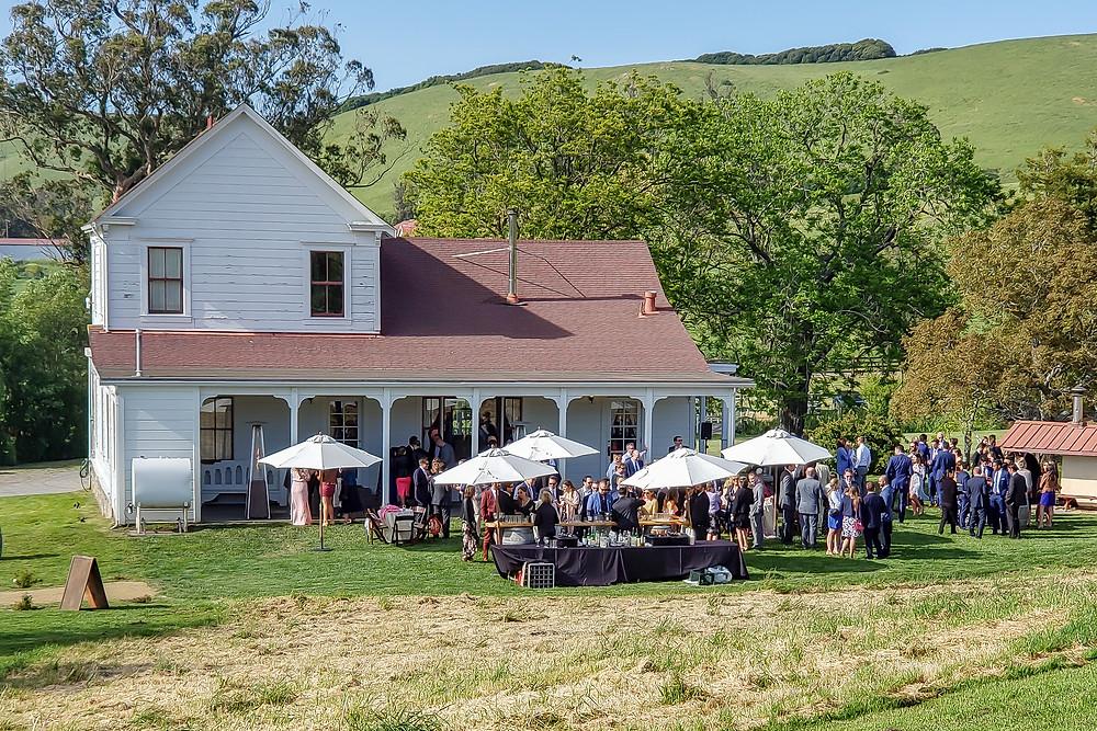 Sonoma wedding DJ Olympia's Valley Estate